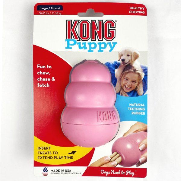 Large Pink Puppy Kong