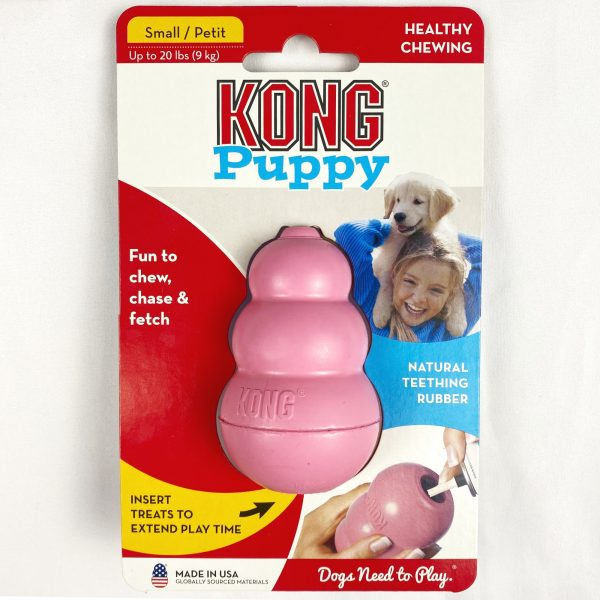 Small Pink Puppy Kong